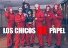 LOS CHICOS DE PAPEL – El Atraco musical del MOMENTO!