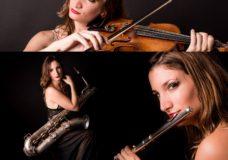 Show para RECEPCIONES Saxo, Violín, Flauta y Piano